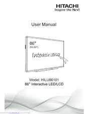 Hitachi HILU-86101 User Manual