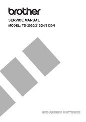 Brother TD-2020 Service Manual