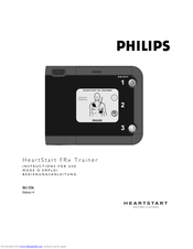 Philips HeartStart FRx Trainer Instructions For Use Manual