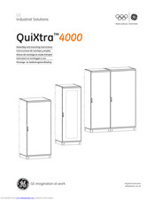 GE QuiXtra 4000 Assembly And Mounting Instructions