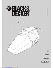 Black & Decker VH800T Manual