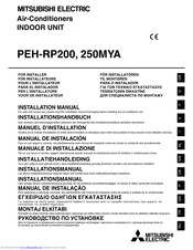 Mitsubishi Electric PEH-RP250MYA Installation Manual
