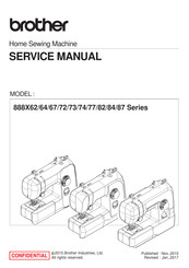 Brother 888X82 Series Service Manual