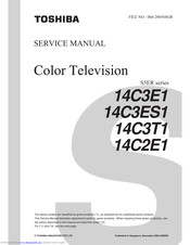 Toshiba 14C3T1 Service Manual