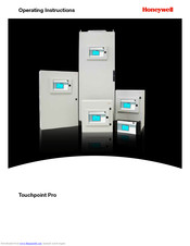 Honeywell touchpoint Pro Operating Instructions Manual