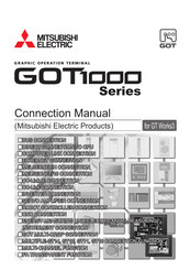 Mitsubishi Electric GT1665 Connection Manual