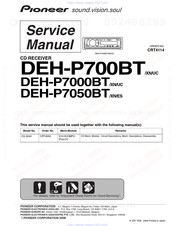 [WLLP_2054]   PIONEER DEH-P700BT XN SERVICE MANUAL Pdf Download | ManualsLib | Deh P7000bt Wiring Diagram |  | ManualsLib