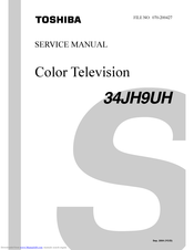 Toshiba 34JH9UH Service Manual