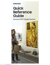 Samsung ML32E Quick Reference Manual