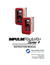 MAGNETEK IMPULSE G+ SERIES 4 INSTRUCTION MANUAL Pdf Download. on