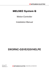 Mitsubishi Electric MELSEC System Q Installation Manual