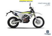 Husqvarna 701 Enduro 2017 Owner's Manual