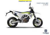 Husqvarna 701 Supermoto 2017 Owner's Manual