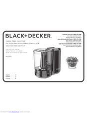Black & Decker hc 300 Use And Care Manual