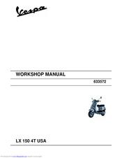 VESPA LX 150 4T USA WORKSHOP MANUAL Pdf Download   ManualsLibManualsLib