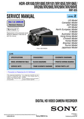 HDR-XR106E Handycam Camcorder Battery Pack for Sony HDR-XR100E HDR-XR105E