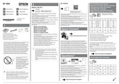 Epson XP-540 SERIES Start Here