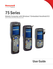 Honeywell CK75 User Manual