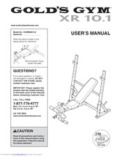 Astonishing Golds Gym Xr 10 1 Manuals Unemploymentrelief Wooden Chair Designs For Living Room Unemploymentrelieforg