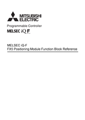 Mitsubishi Electric MELSEC iQ-F Manual