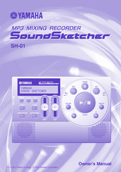 Yamaha SH-01 Owner's Manual