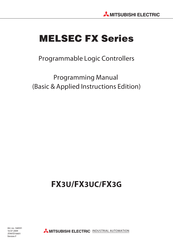 Mitsubishi Electric MELSEC FX3U Programming Manual