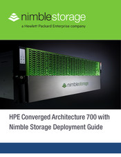 HP Converged Architecture 700 Deployment Manual