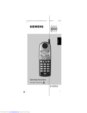 Siemens Gigaset 3000 Micro Operating Instructions Manual