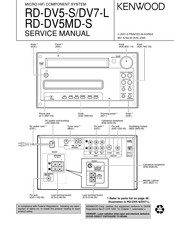 Kenwood RD-DV5-S Service Manual