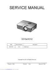 Optoma X312 Manuals