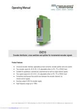 Motrona GV210 Encoder Distributor//Cross Switcher//Splitter NEW