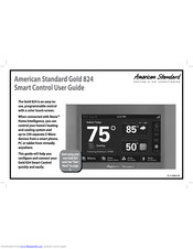 American Standard Gold 824 Manuals