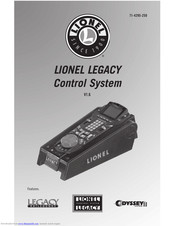 lionel legacy control system