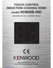 Kenwood KH600B-IND Instructions For Use Manual