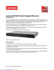 Lenovo CE0128P Product Manual