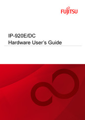 Fujitsu IP-920 E/DC Hardware User's Manual