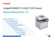 Canon imageRUNNER C1325 Series Service Manual