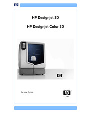 HP DESIGNJET 3D Service Manual