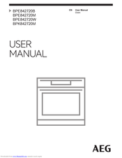 AEG BPR842320M User Manual
