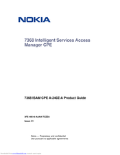 Nokia 7368 Product Manual