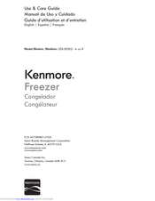 Kenmore 253.20202 Use & Care Manual