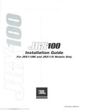 JBL JRX100 INSTALLATION MANUAL Pdf Download. on