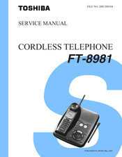 Toshiba FT-8981 Service Manual