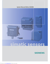 Siemens SIMATIC RF320T System Manual