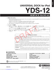 Yamaha YDS-12 Service Manual