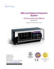 GE D60 Instruction Manual