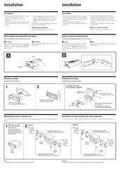 Sony Cdx 4180 Instalation Manuals