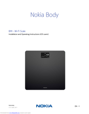Nokia WBS06 Installation And Operating Instructions Manual