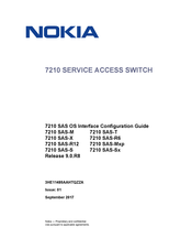 Nokia 7210 SAS-M Series Configuration Manual
