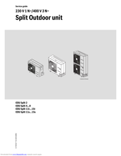 Bosch AHUW156A2 Service Manual